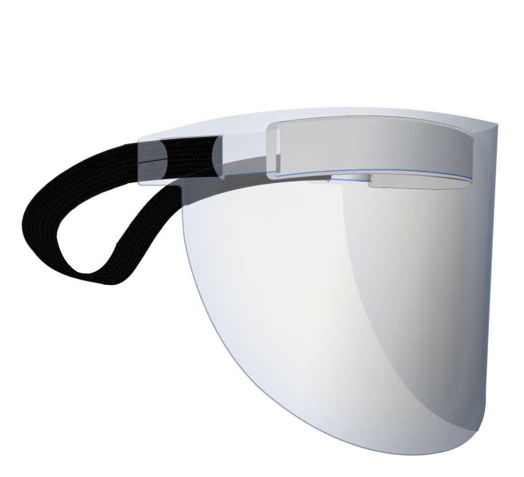 Protetor Facial Incolor - Protspray