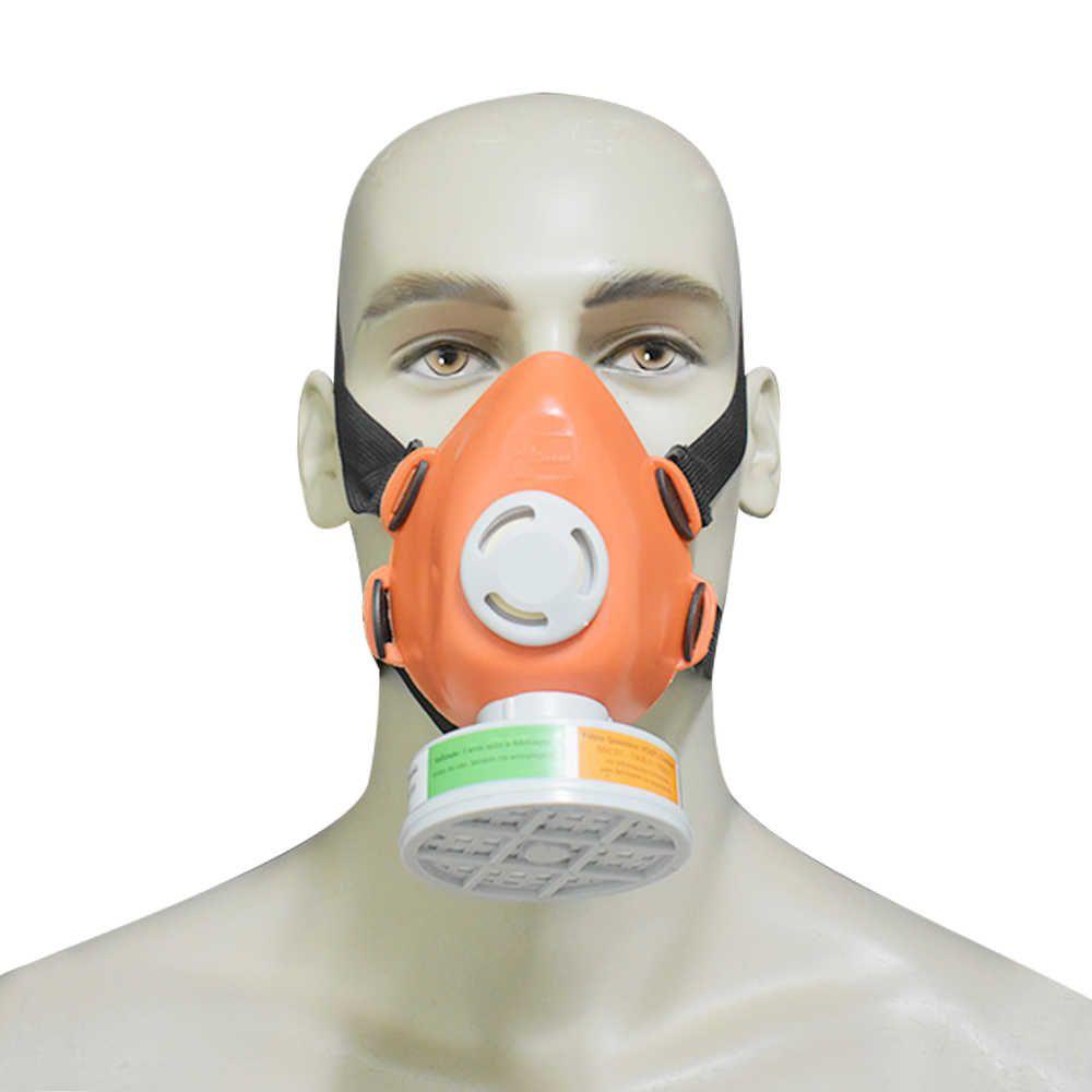 Respirador 1/4 Semi Facial com filtro VO / P2 Incluso - Plastcor