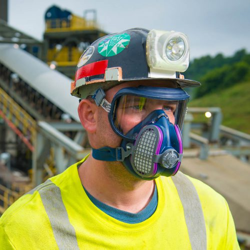 Respirador Facial Inteiro GVS INTEGRA Com filtro P3 Incluso