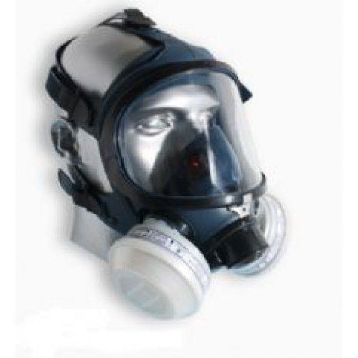 Respirador Full Face Absolute para 2 Filtros - Air Safety
