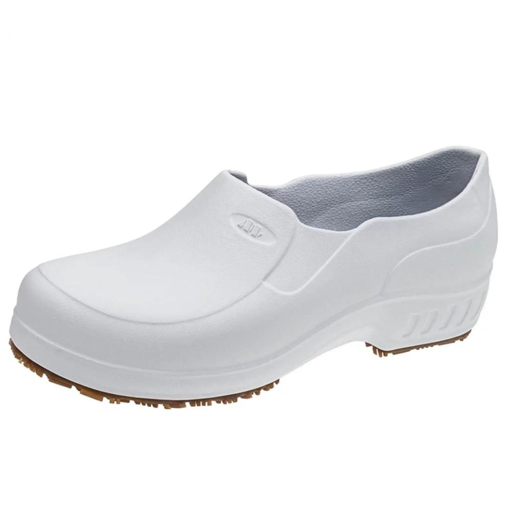 Sapato de Segurança Ocupacional Antiderrapante Branco Flex Clean - Marluvas