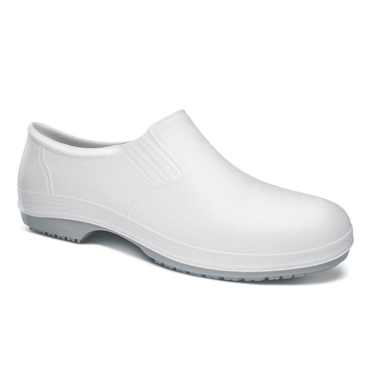 Sapato de Segurança Polimérico Antiderrapante Branco - Crival