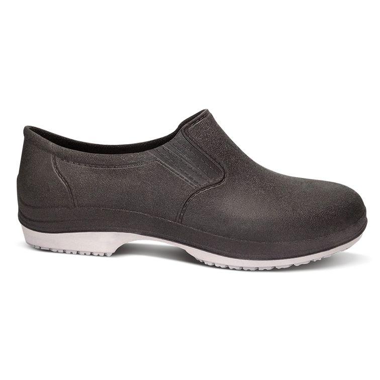 Sapato de Segurança Polimérico Antiderrapante Preto - Crival
