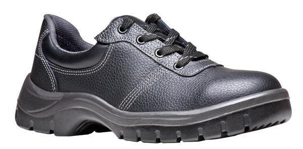 Sapato Preto de Amarrar com Biqueira de PVC - Bracol