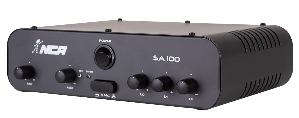 Amplificador Compacto De Som Ambiente SA 100 - LL AUDIO
