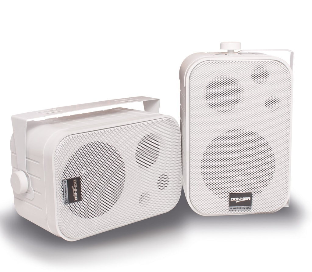 Caixa de Som Ambiente  SP400 Branca -  LL AUDIO