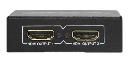 Divisor HDMI 1 Entrada x 2 Saídas Preto STORM