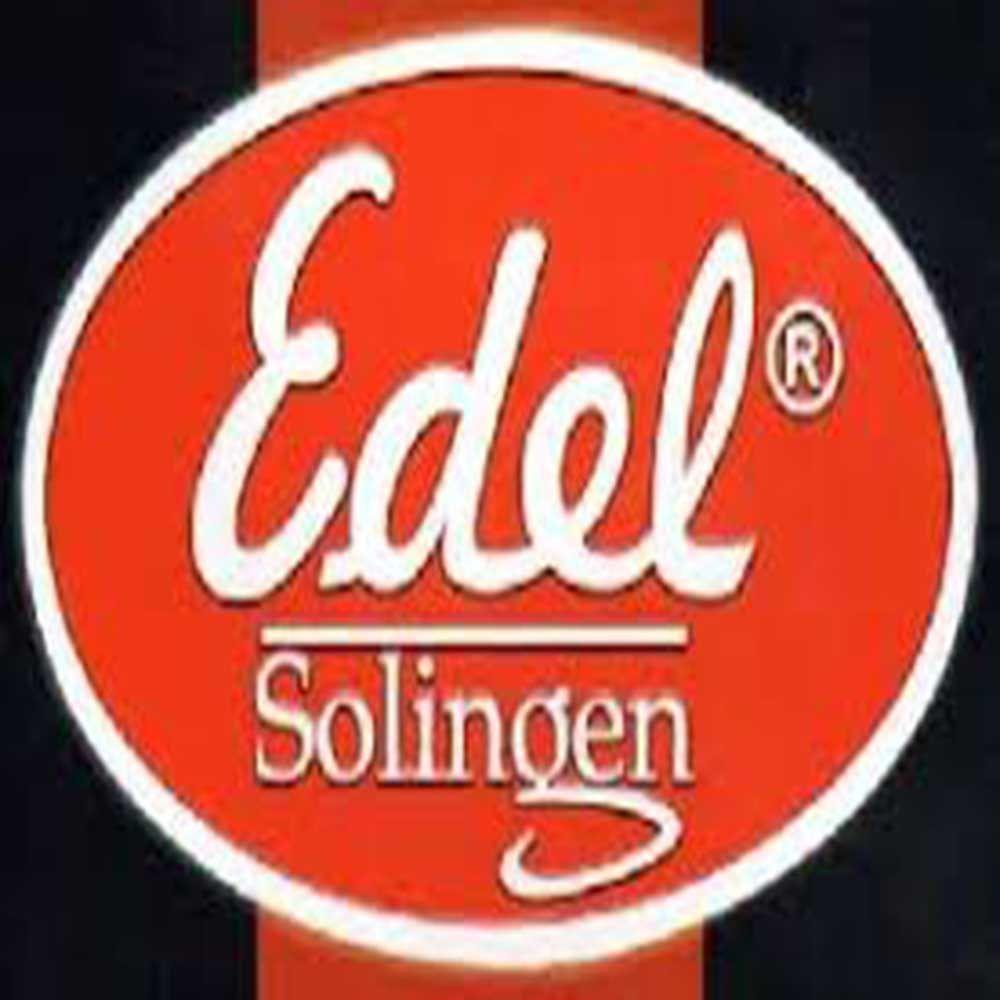 3 alicates de unha Edel Solingen ref. 0363 aço inox importado, corte curvo
