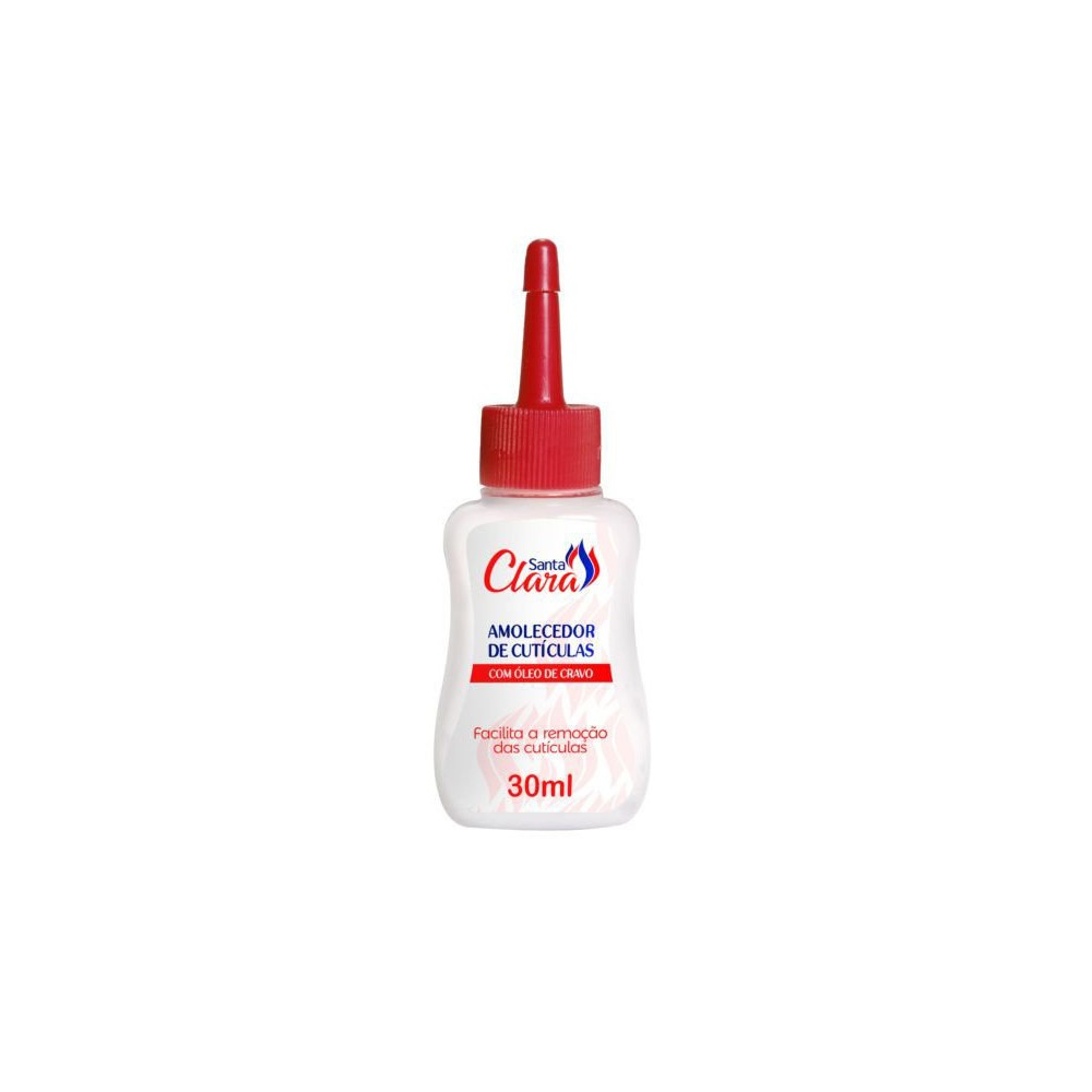 Amolecedor de cuticulas c/ óleo de cravo Santa Clara 30ml