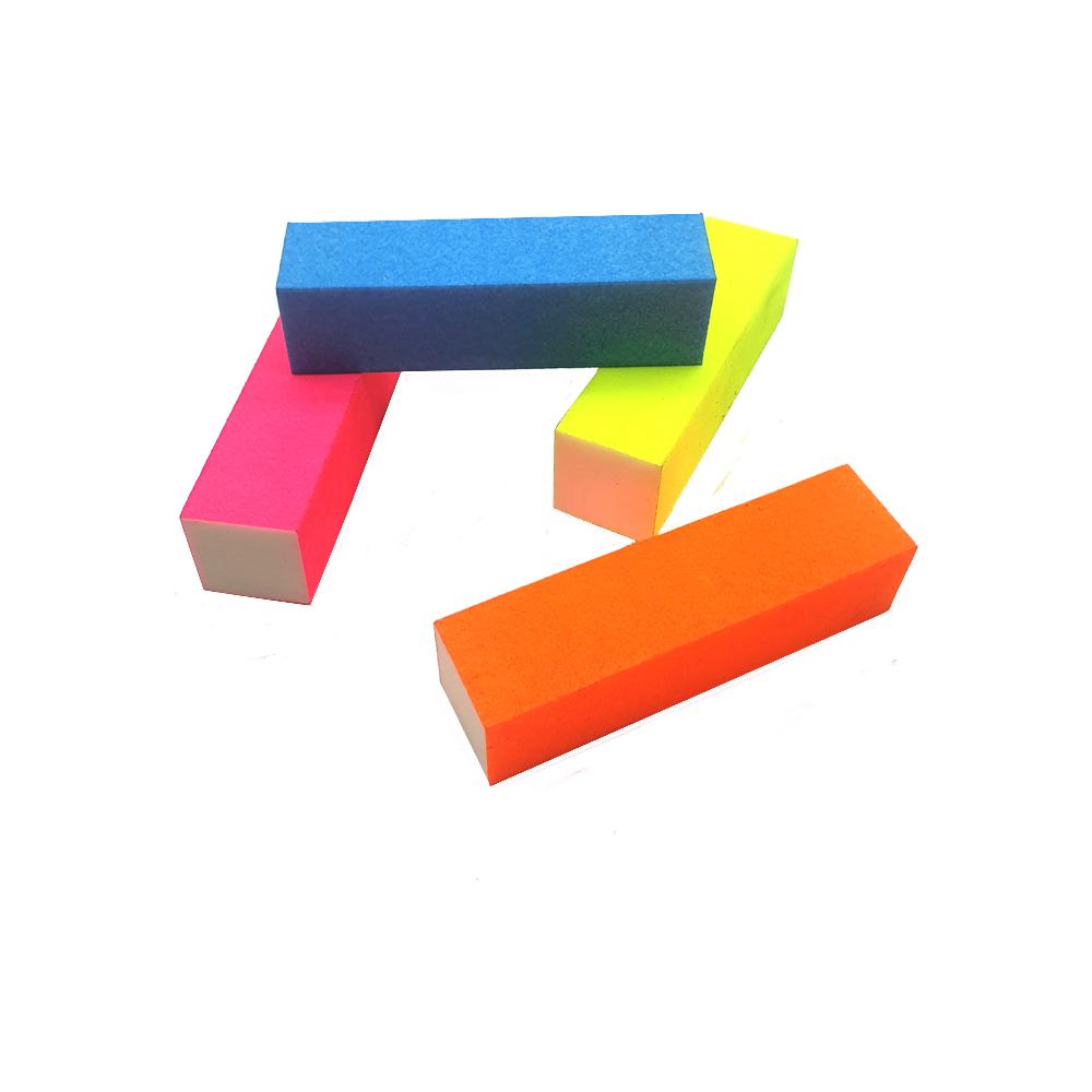Bloco polidor colorido
