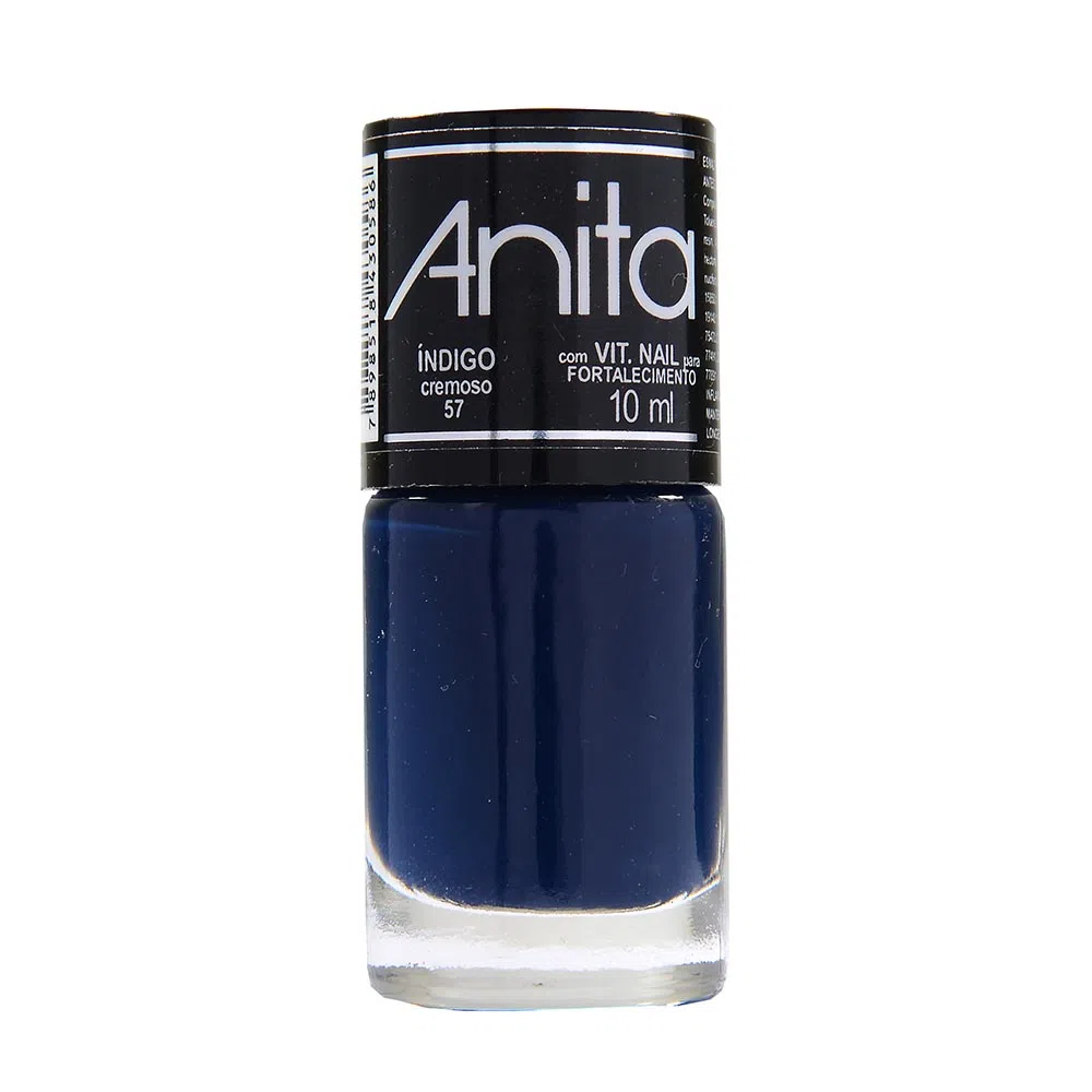 Esmalte Anita Cremoso indigo 10ml