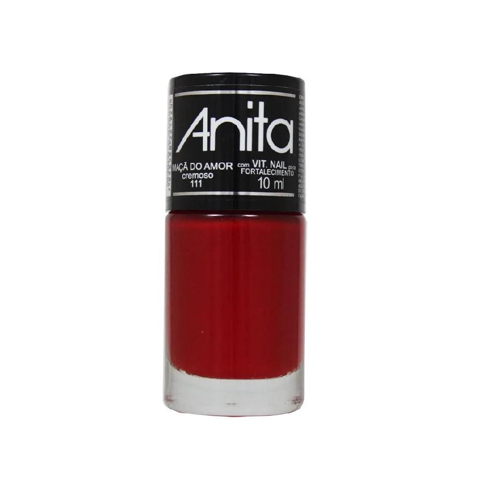 Esmalte Anita cremoso Maça do Amor 10 ml
