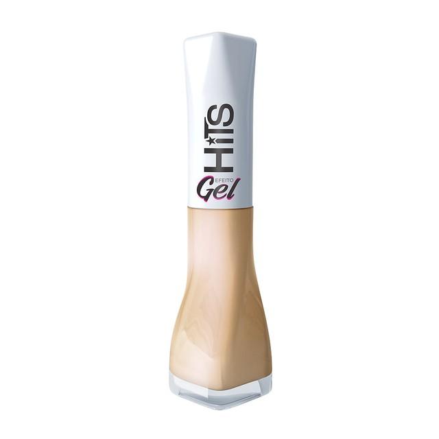 Esmalte HiTS efeito gel Dar e receber cremoso 5free 8ml
