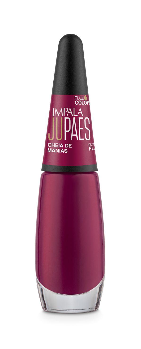 Esmalte Impala Ju Paes cheia de manias full colors 7,5 ml