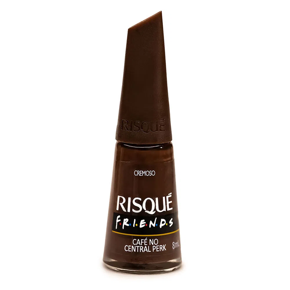 Esmalte Risqué Friends Café no Central Perk Cremoso 8ml