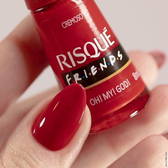 Esmalte Risqué Friends Oh! My! God! Cremoso 8ml