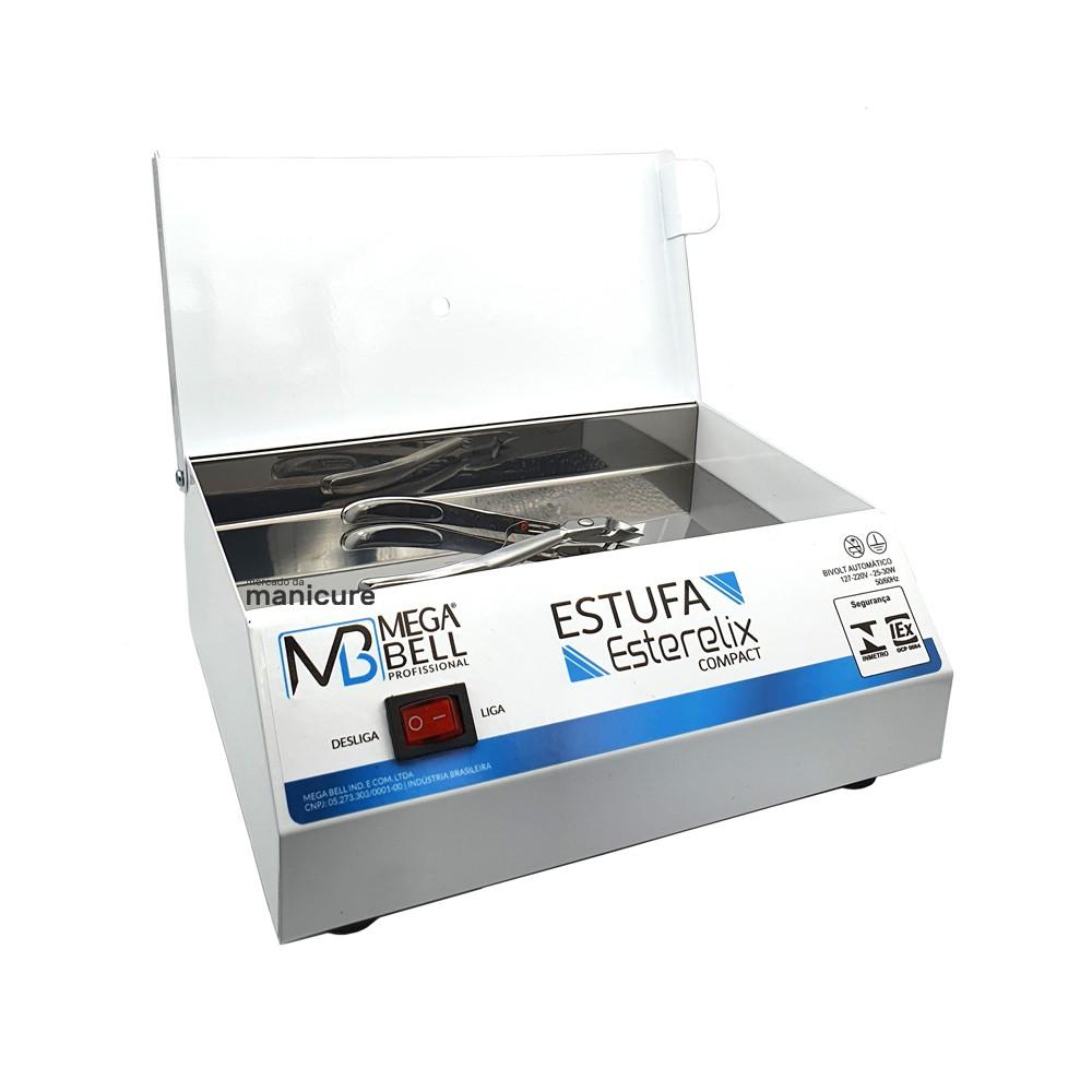 Estufa para manicure Mega Bell esterelix compacta bivolt automática