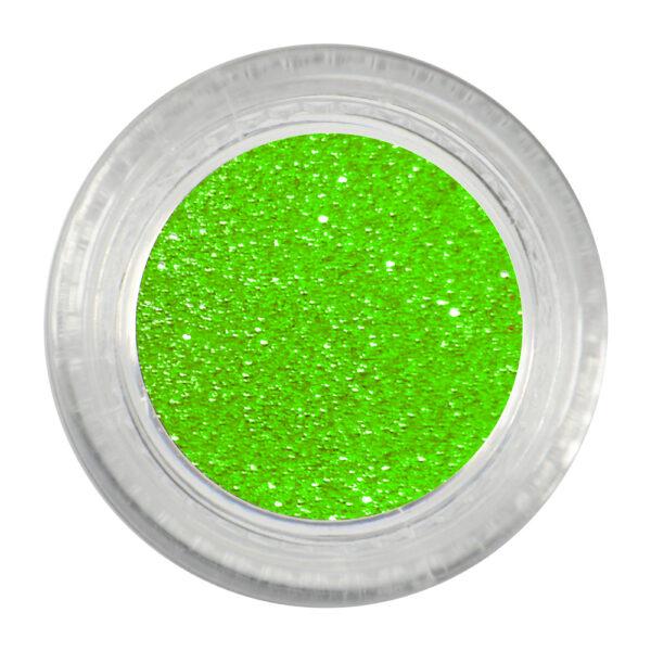 Glitter para unhas decorativa Verde N.1 Santa Clara