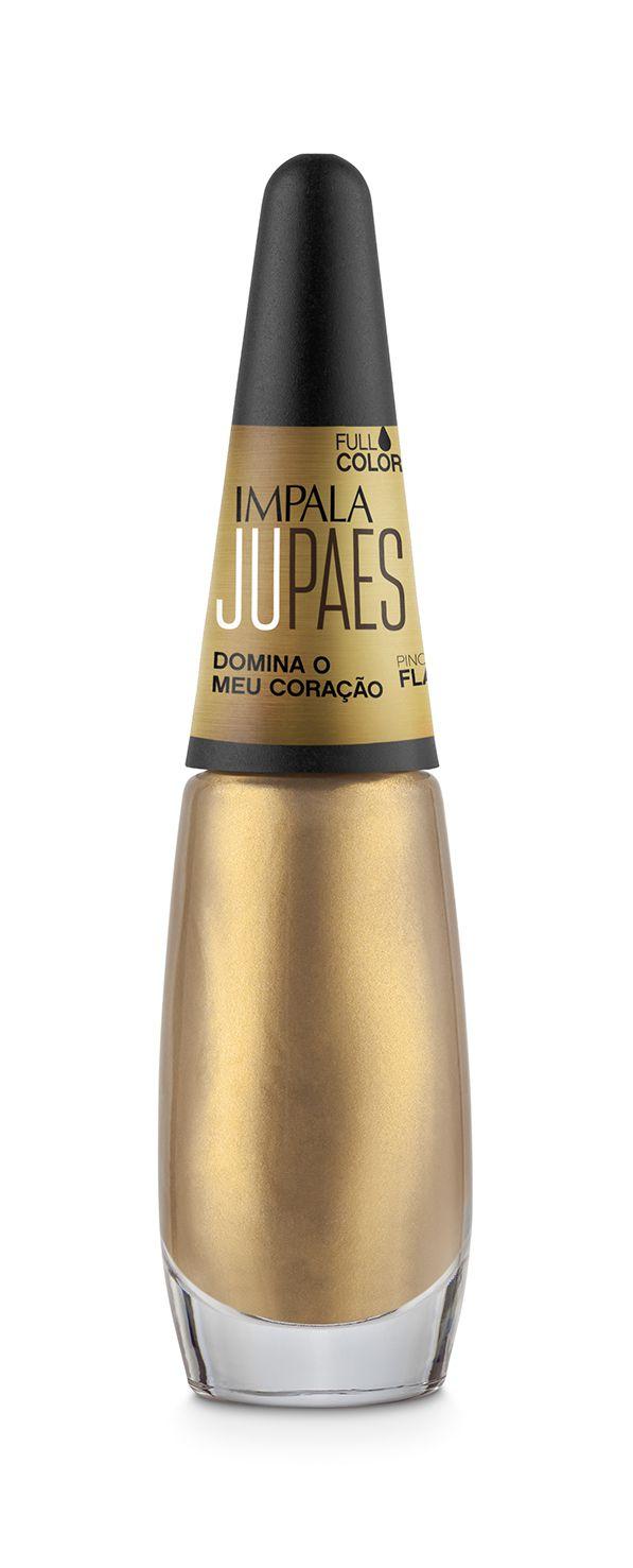 kit de esmalte coleção Juliana Paes Impala c/ base e verniz