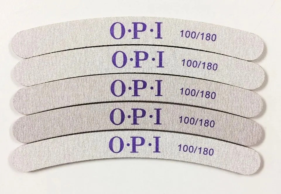 Lixa OPI Banana 100/180 lavável kit com 6 unidades