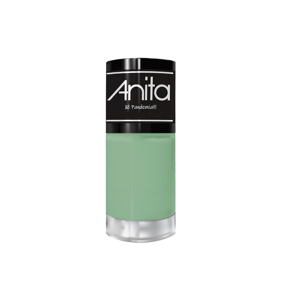 Material para manicure com alicate mundial e coleção de esmalte Anita ref m 02