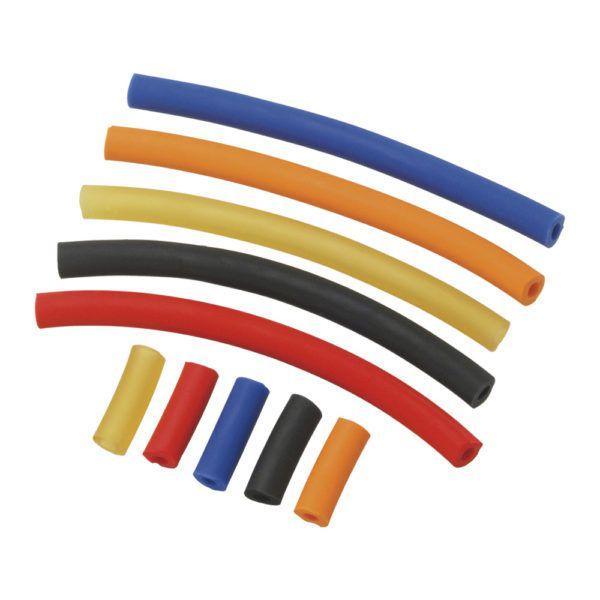 Mola para alicate em látex Santa Clara c/ protetor de ponta (cores sortidas)