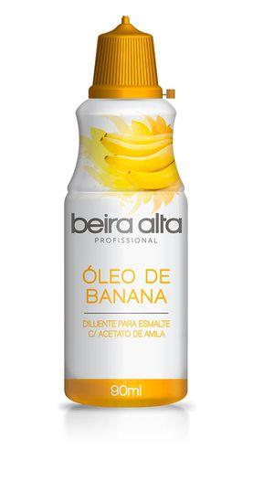 Óleo de Banana Beira Alta diluente para esmalte com acetato 90ml
