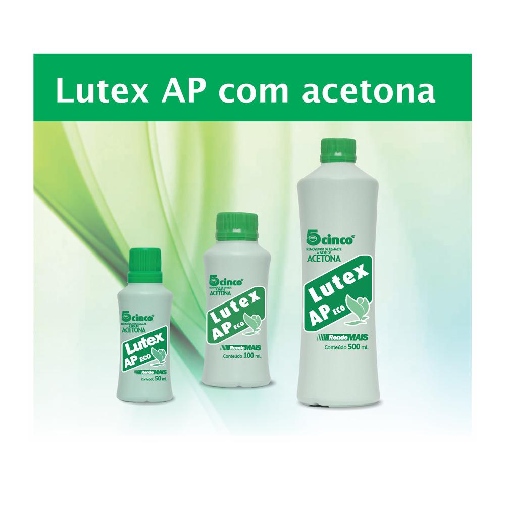 Removedor De Esmalte 5cinco Kit 2 Unidades Lutex 500ml