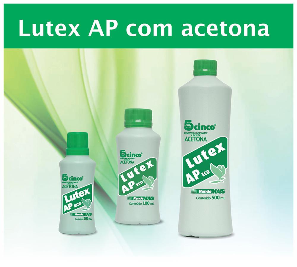 Removedor de esmalte Lutex 5Cinco profissional 500 ml