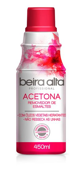 Removedor de esmaltes Beira Alta 450ml Profissional
