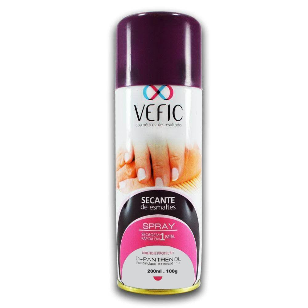 Spray secante de esmalte Vefic 200ml