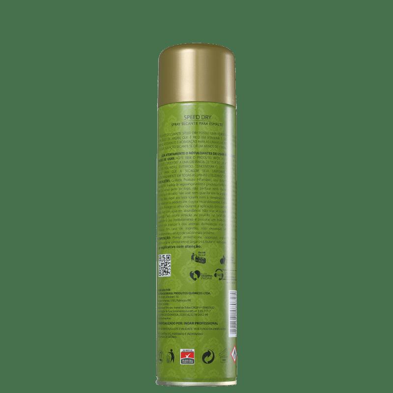 Spray Secante Inoar de Esmalte Speed DRY 400ml