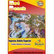 Ingresso Adulto - Feriados Especiais - Hot Beach