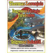 Ingresso Infantil - Tiradentes - Thermas dos Laranjais
