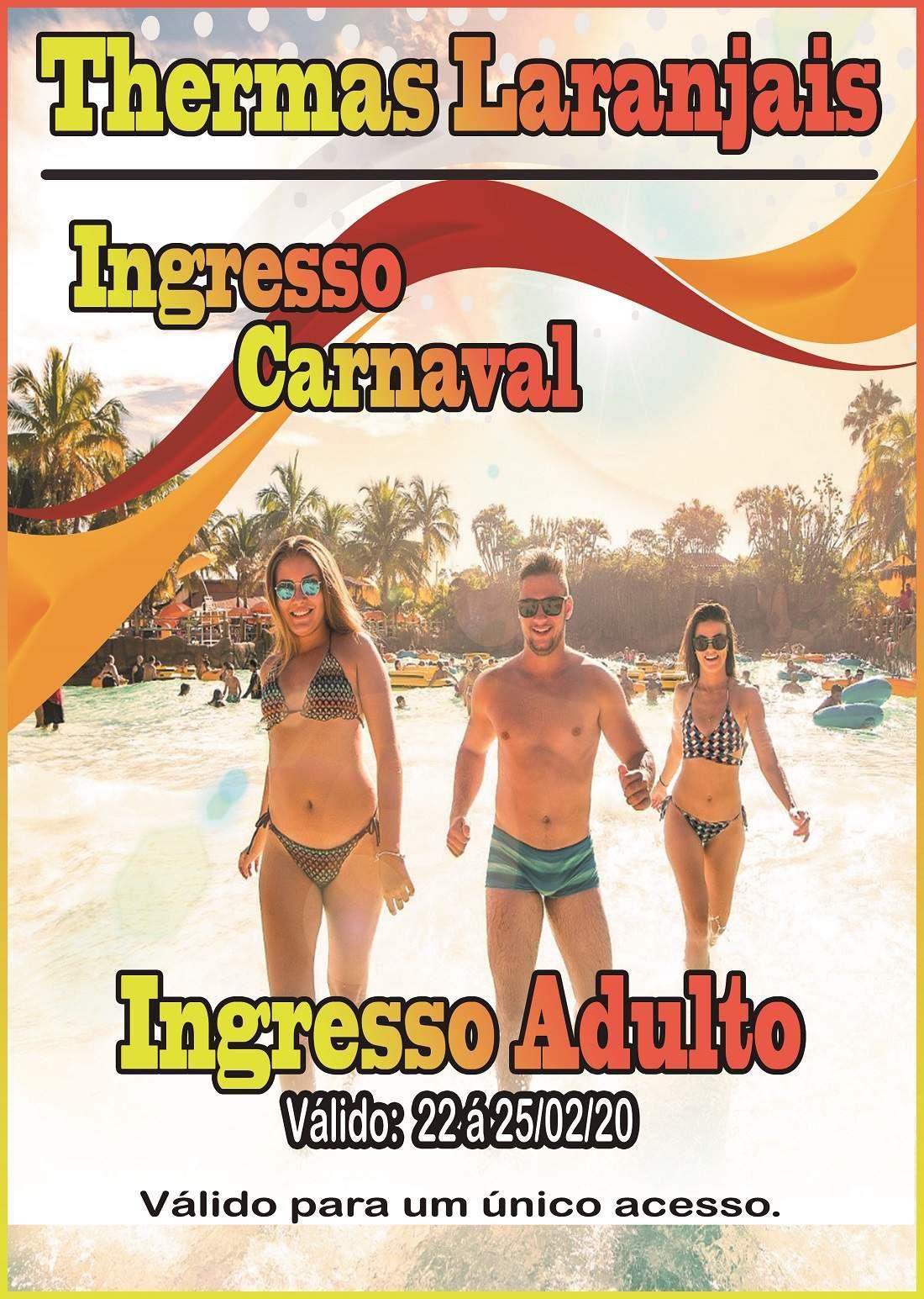 Ingresso Adulto - Carnaval 2020  - Thermas Fácil