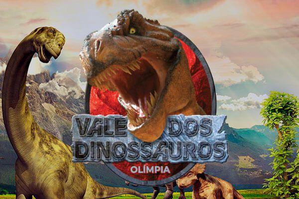 Ingresso Meia Entrada - Vale dos Dinossauros  - Thermas Fácil