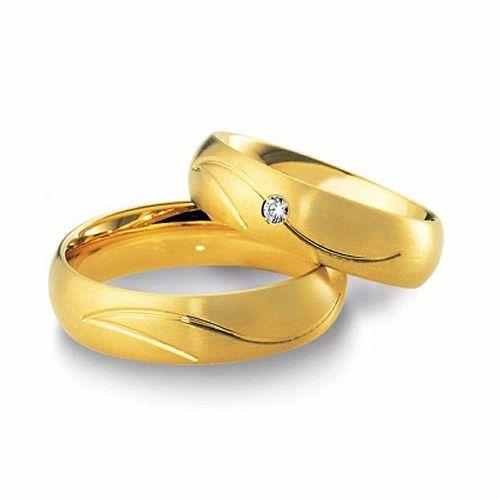 Alianças Casamento Ouro Anatômica 6,5mm - A1623