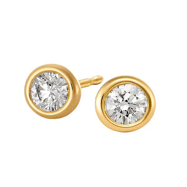 Brincos Ouro 18k com Diamantes - A264