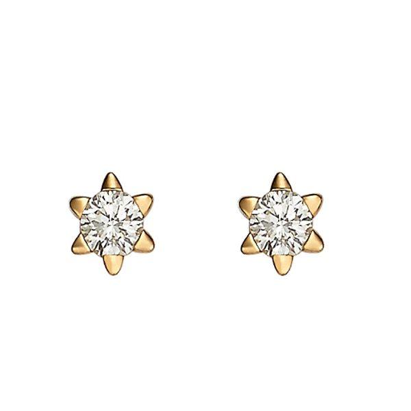 Brincos Ouro com Zircônias - A282