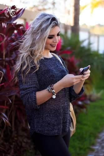 f93ac6602 monte siao roupas de inverno e verao atacado moda blogueira - Tricot ...