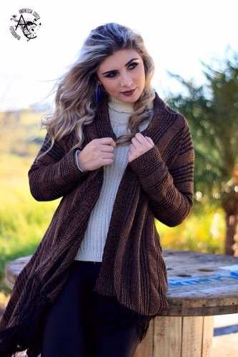 35b899978 monte siao roupas de inverno e verao atacado moda blogueira - - Marca: Loja  Do Tricô - Material da blusa: sobre tudo de tricot casaco lançamento inverno  ...