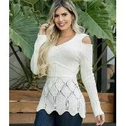 blusa De Tricot Moda Feminina Loja Online De Roupas C-122