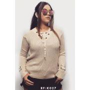 blusa de frio moda blogueira tendencia monte sião