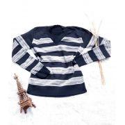 Blusa de tricot gola v elastano monte sião atacado