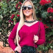 Blusa De Tricot moda feminina atacado varejo inverno K02