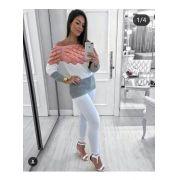Blusas De Frio Feminina Onça Tricot Promoção KT421