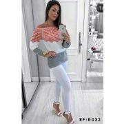 Blusas Moda Feminina Atacado Monte Sião K81