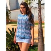cropped blusinha de tricot verão moda feminina k527