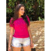 kit 3  cropped top  blusinha tricot verão moda feminina k535