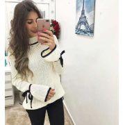 Kit 5 Blusas Feminina Inverno Moda Blogueira Atacado KT265